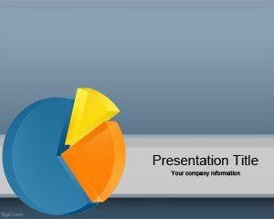 Plantilla de Powerpoint 3D Chart gratis