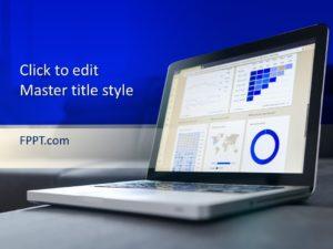 Plantilla gratuita de PowerPoint para análisis de datos