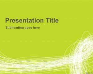 Plantilla de PowerPoint de Garabatos Gratis