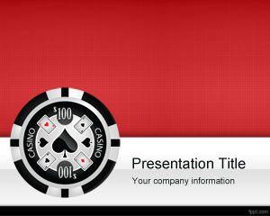 Plantilla PowerPoint de Casino Las Vegas gratis