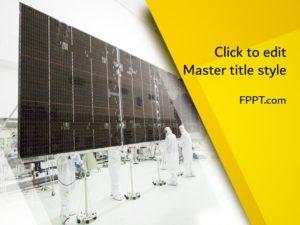 Plantilla de PowerPoint de Energía Renovable Gratuita