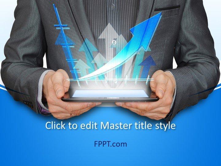 Plantilla de PowerPoint de Digital Trends gratis