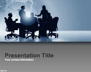 Plantilla gratuita de PowerPoint para la Gestión del Rendimiento Corporativo