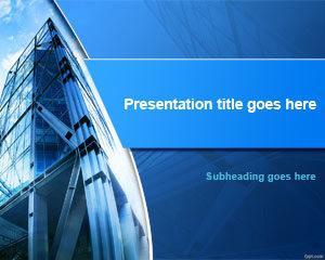 Plantilla Powerpoint Gratuita de la Sede Corporativa