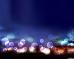 Plantilla de PowerPoint Free Blur Lights