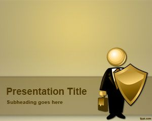 Plantilla gratuita de PowerPoint para corredores de seguros