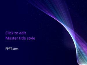 Plantilla de PowerPoint Shine gratis