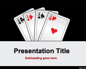 Cuatro de una plantilla de PowerPoint King gratis