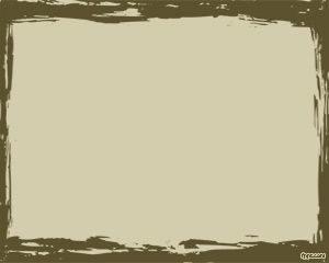 Marco de pintura al óleo Plantilla de PowerPoint
