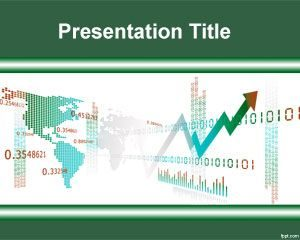 Plantilla gratuita de PowerPoint de Forex