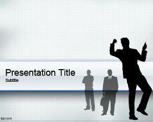 Plantilla de PowerPoint para Gente de Negocios Gratuita
