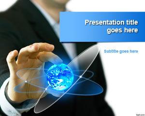 Plantilla de PowerPoint de Global Business Trends gratis