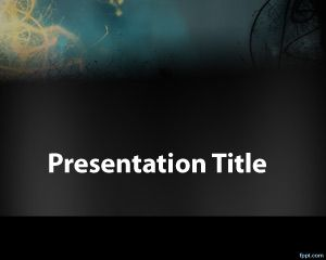 Plantilla de PowerPoint de Misterio Gratis