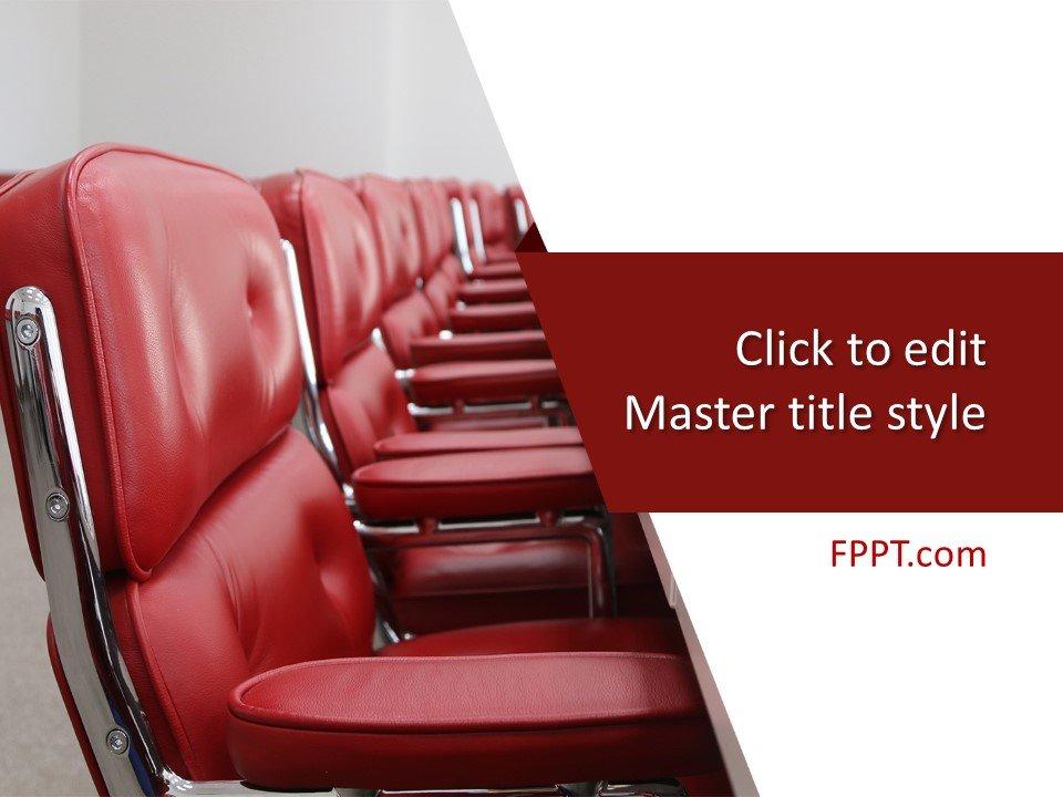 Plantilla de PowerPoint para Sala de Conferencias Gratis