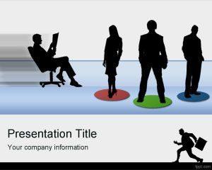 Plantilla de PowerPoint para Empleados Gratuitos