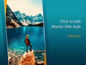 Plantilla de PowerPoint de Free Lake