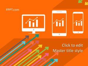 Plataforma de datos de clientes gratuita Plantilla de PowerPoint