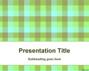 Plantilla de PowerPoint de Química Orgánica Gratuita