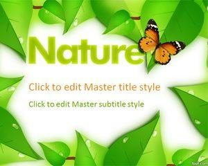 Plantilla Nature PPT
