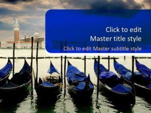 Plantilla de PowerPoint de Venecia gratis