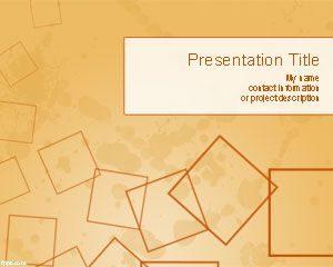 Plantilla de PowerPoint de Cuadriculas Gratis