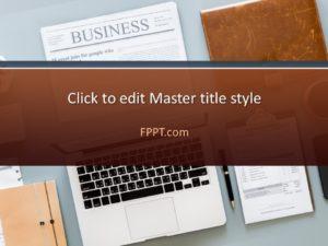 Plantilla de PowerPoint para periódicos gratis