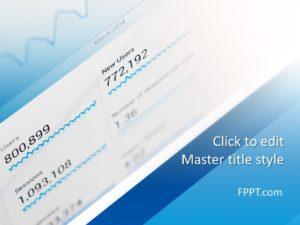 Plantilla de PowerPoint de Análisis de Sitios Web Gratis