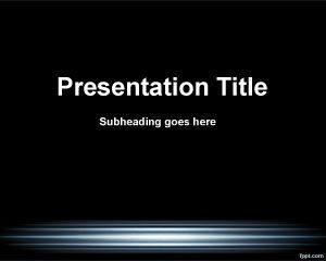 Plantilla magnética de PowerPoint
