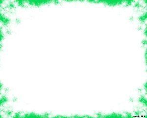 Plantilla de Powerpoint Grungish Border gratis