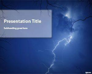 Plantilla PowerPoint Tormenta
