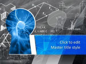 Plantilla de PowerPoint de Conocimiento de Ciencia Libre