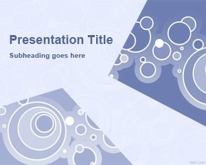 Plantilla Círculos Libres y Nivel PowerPoint