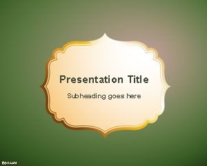 Plantilla de PowerPoint de Antigüedad