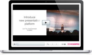 Dé vida a sus vídeos y diapositivas con VCASMO