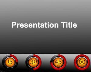 Plantilla de PowerPoint de Tablero de Control Gratis