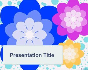 Plantilla de Hippie PowerPoint gratis