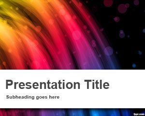 Plantilla Flash PowerPoint gratuita
