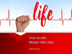 Plantilla de Life PowerPoint gratis