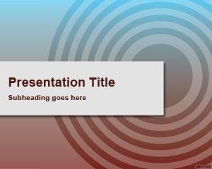 Plantilla de PowerPoint Deslumbrante Gratis