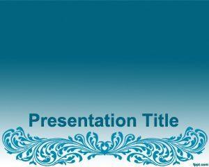 Plantilla artística de PowerPoint gratis