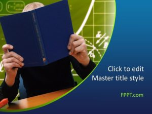 Plantilla de PowerPoint de Educación Escolar Gratuita