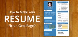 11 consejos para hacer que su currículum encaje en una página
