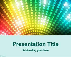 Plantilla de PowerPoint de Game Show gratis