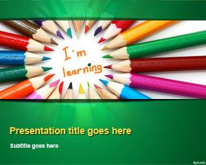 Plantilla de PowerPoint de Aprendizaje para Niños Gratuitos
