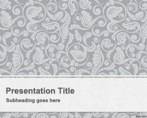 Plantilla de PowerPoint Vintage gratis