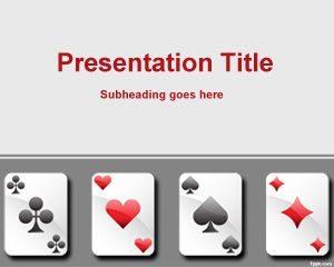 Plantilla de Tarjetas de Juego Gratis para PowerPoint