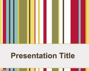 Plantilla de PowerPoint de Megatrends gratis