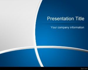 PowerPoint gratuito de Dark Blue Manager