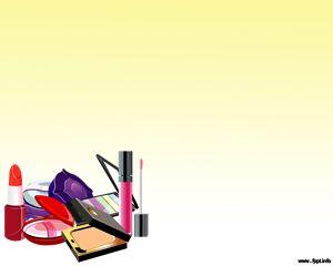 Plantillas de maquillaje de PowerPoint gratuitas