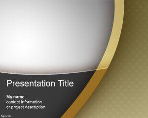 Plantilla PowerPoint de Regency gratis
